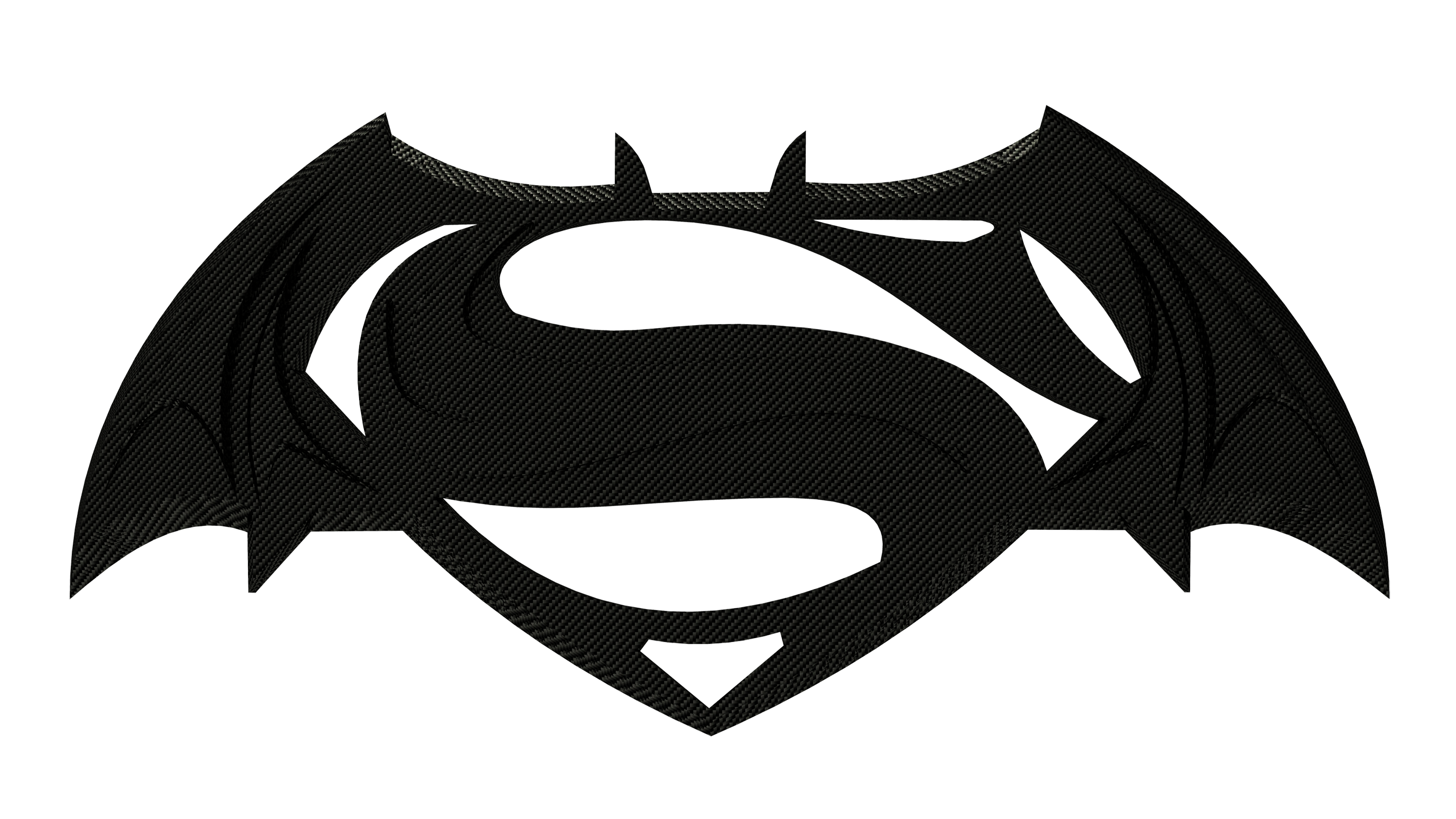 Superman logo black and white png. Photo arts
