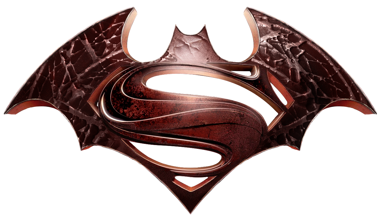 Superman logo .png. Batman vs super man