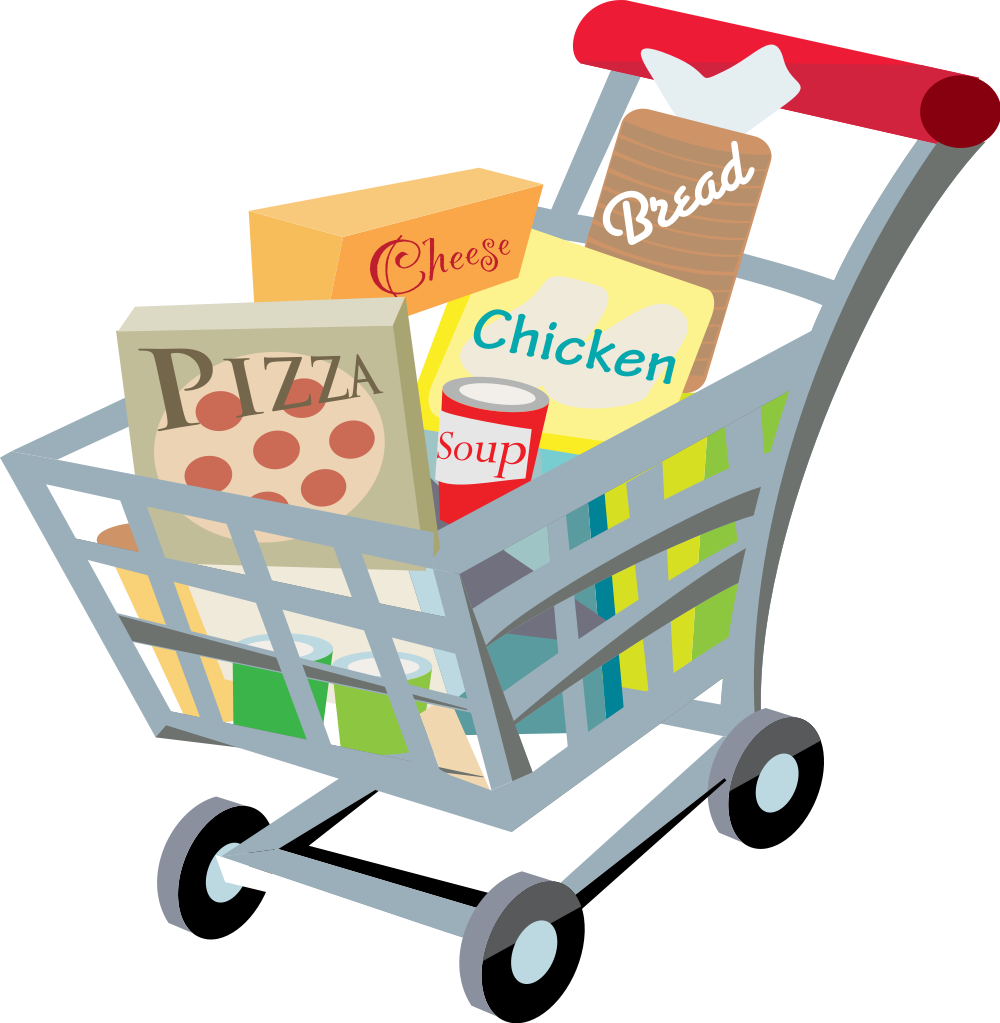 Full clipart full trolley. File shopping cart with