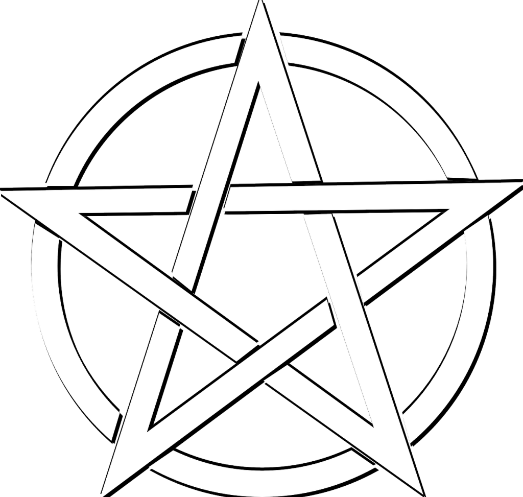 pentacle vector inverted