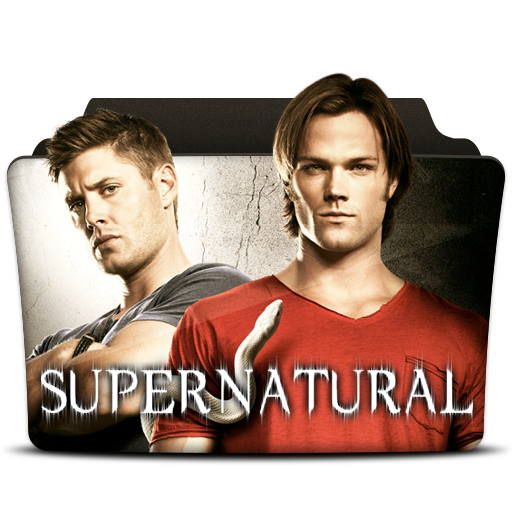 Supernatural show png. Icon tv series folder