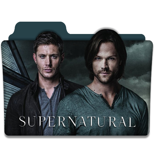 Supernatural show png. Tv series folder icon