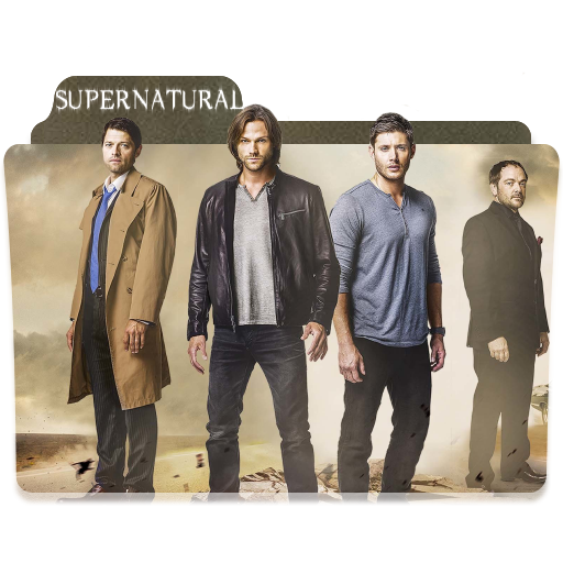 Supernatural show png. Season folder icon by
