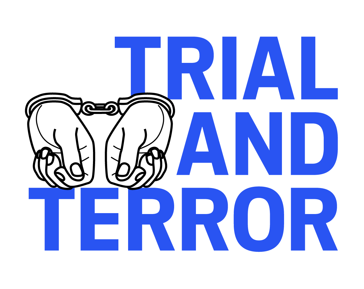 Support drawing anti terrorism. Trial and terror