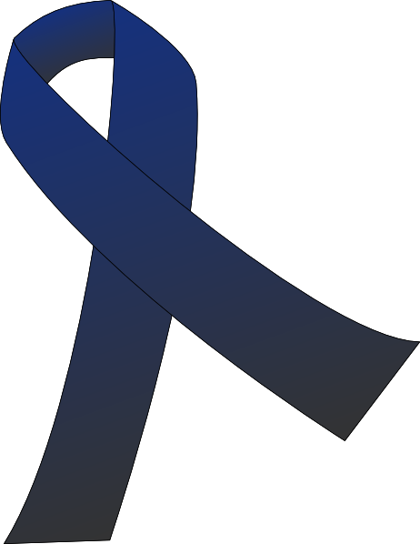 Support drawing colon cancer ribbon. Clip art at clker