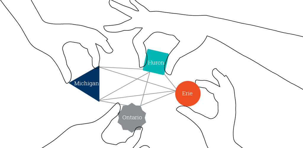 Support drawing linking hand. Building linked data bridges