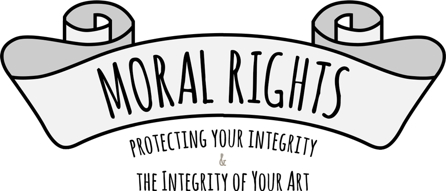 Support drawing moral. Rights by protectart on