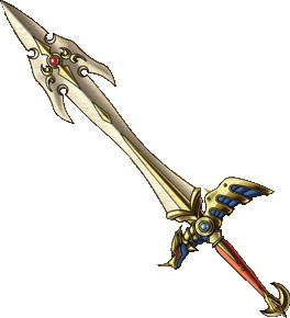 Support drawing sword. Of ramias dragon quest