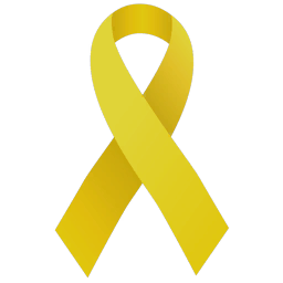 Support drawing yellow ribbon. Military and veterans metropolitan