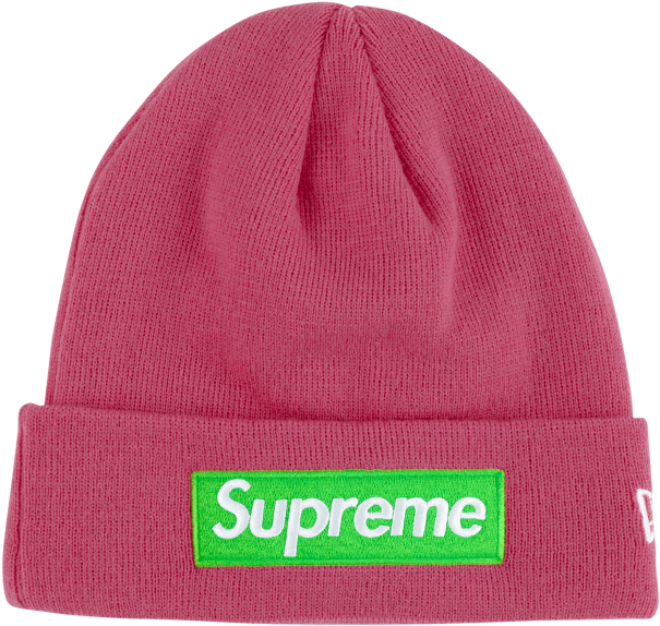 Pink beanie png. Download hd supreme sup