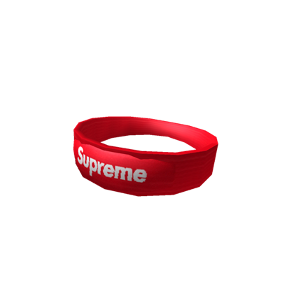 Supreme headband png. Roblox