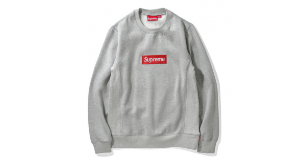 Transparent supreme sweatshirt. New box logo sweater