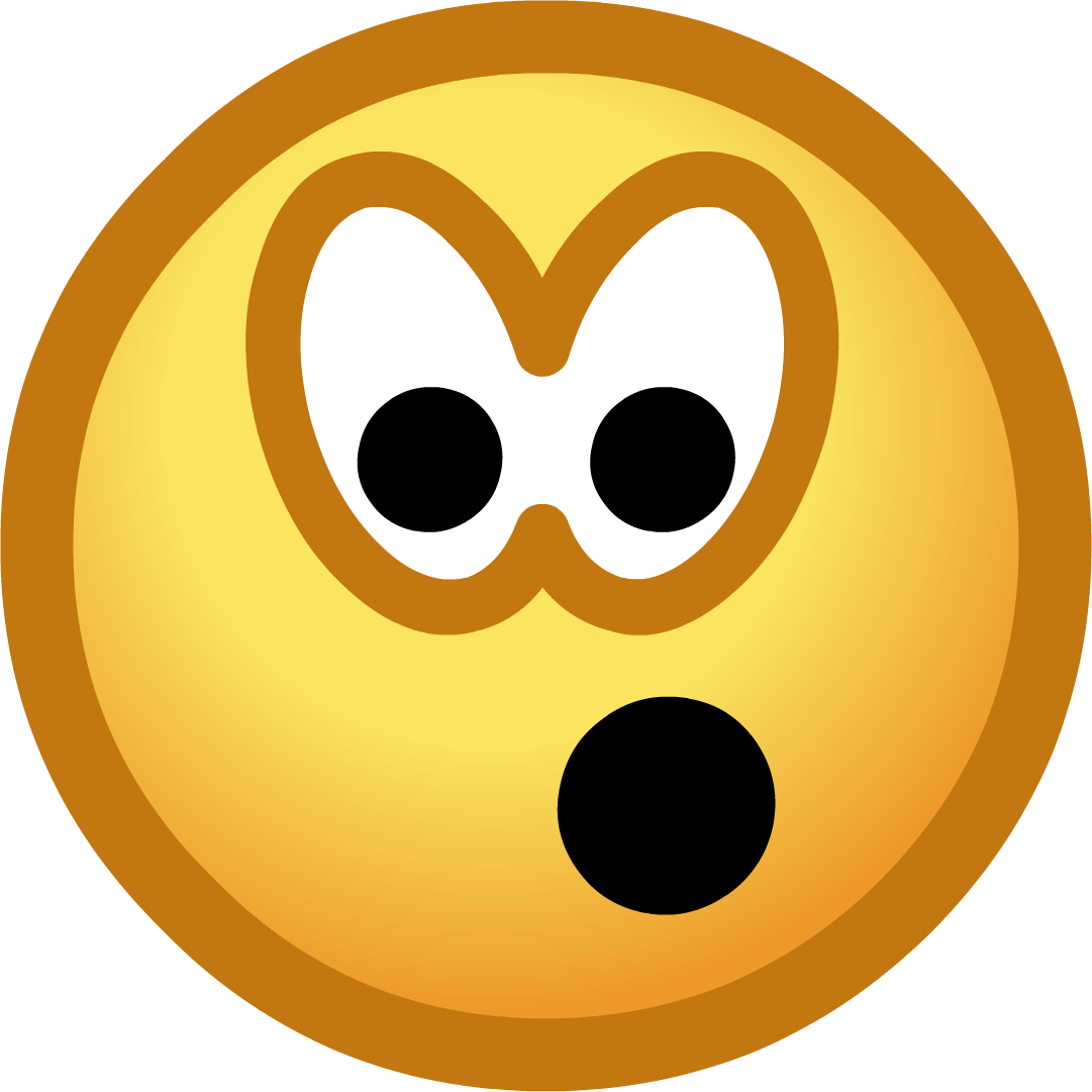 Shocked face png. Image surprised emoticon club