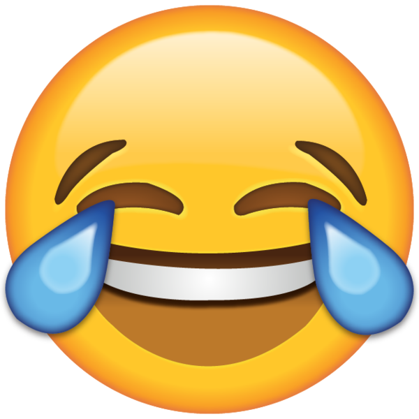 Laugh so hard until. Open eye crying laughing emoji png vector black and white download