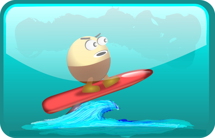 Surfing clipart surfer cartoon. Free pictures download clip