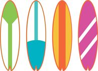 Surfboard clipart. At getdrawings com free