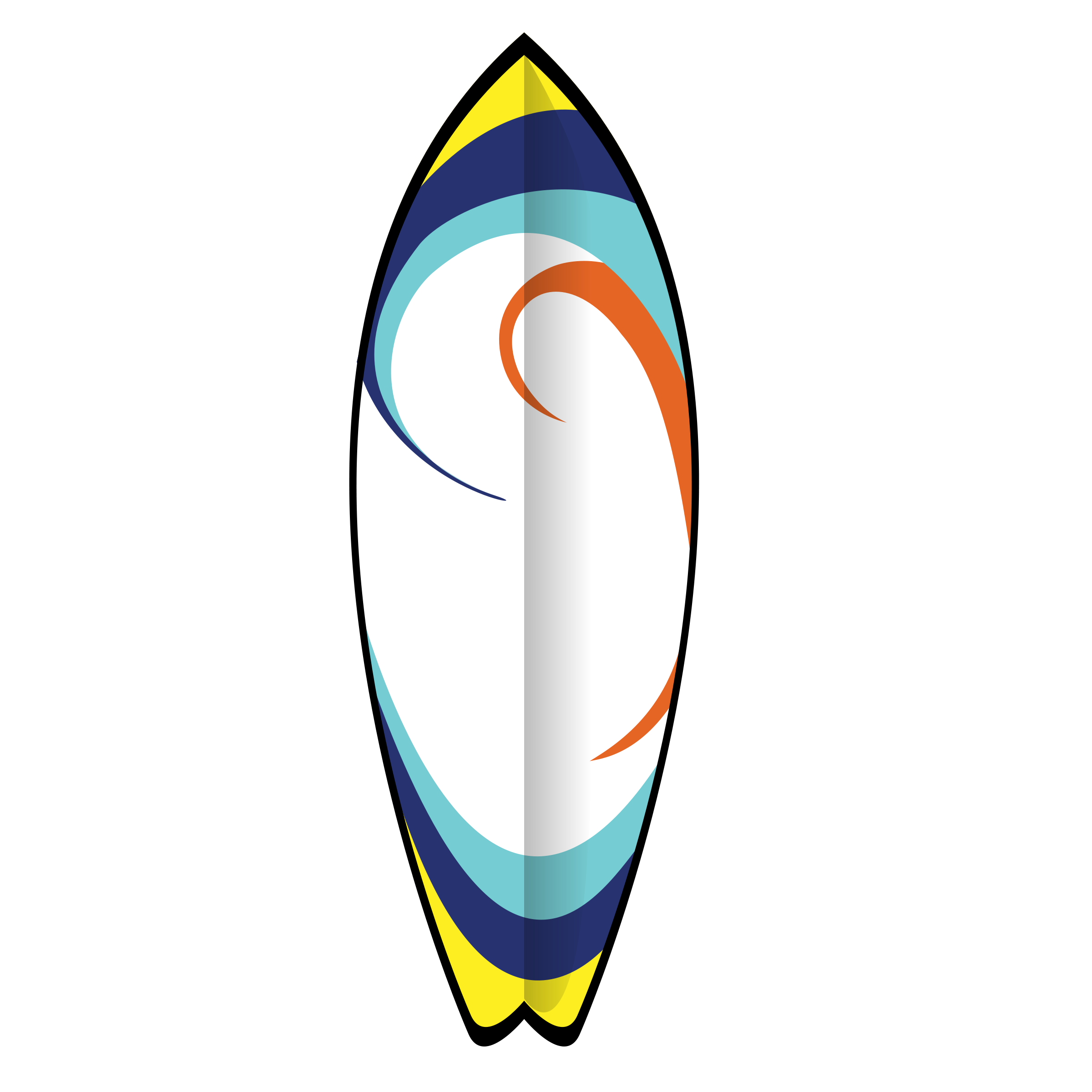 Surfboard clipart png. Printed surfboards on cardstock