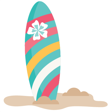 Surfboard silhouette png