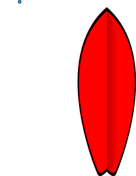 Surfboard clipart png. Red clip art at