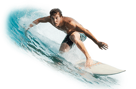 Surfer clipart transparent background. On wave png stickpng