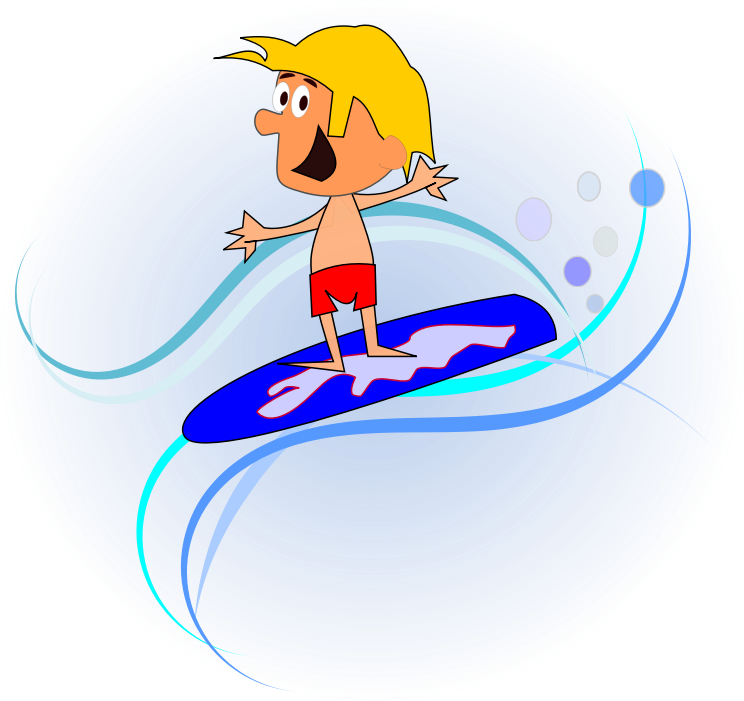 Surfing clipart surfer cartoon. Free cliparts download clip