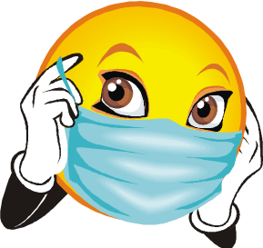 Surgeon drawing medical face mask. Free surgical cliparts download