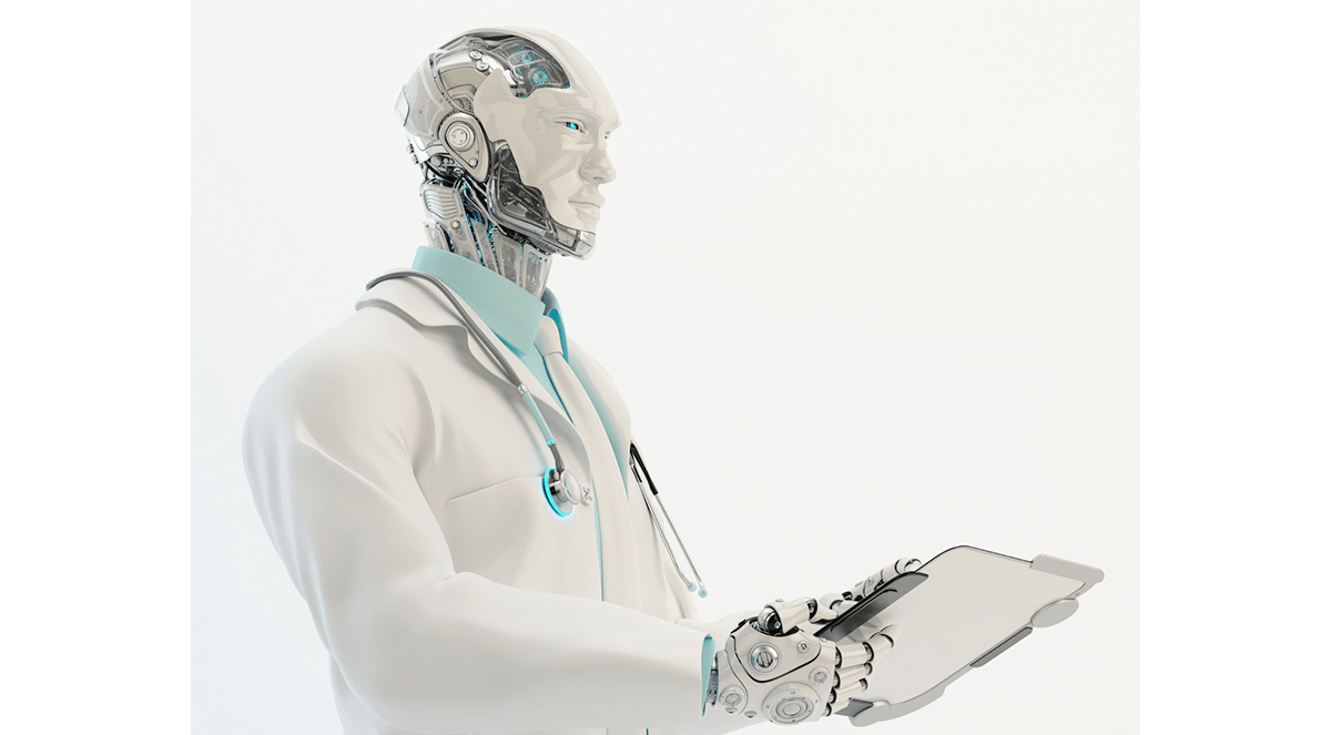 Surgeon drawing physician. Will robots ever be