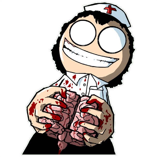 Surgery drawing cartoon brain. By survivorgrim on deviantart