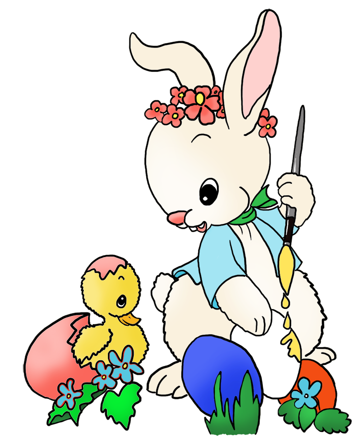 Surprised clipart bunny. Funny easter by chicken