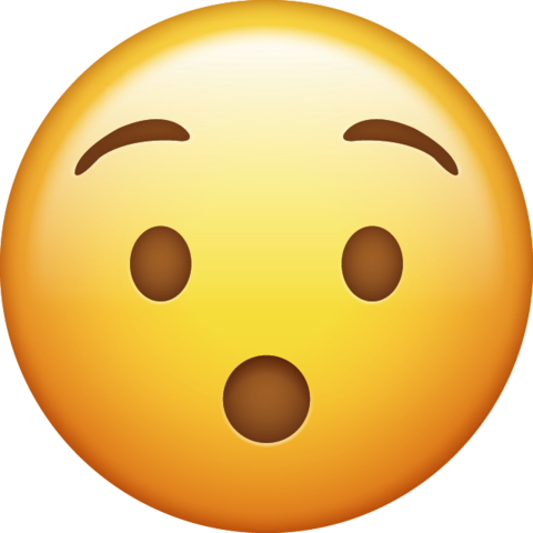 Surprised emoji png. Download iphone icon in