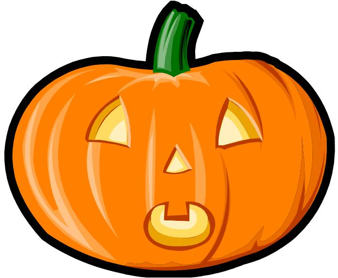 Surprised clipart jack o lantern. Pictures of halloween things
