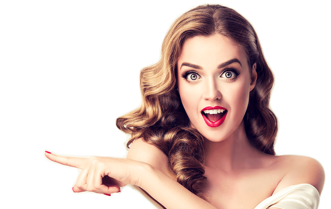 Surprised girl png. Stock photography royalty free
