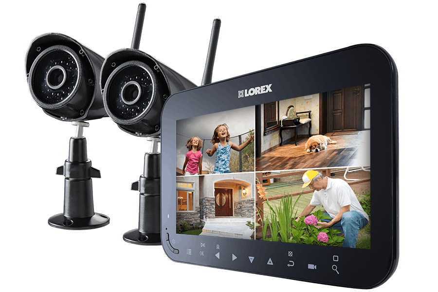 Surveillance camera recording png. Wireless video system with