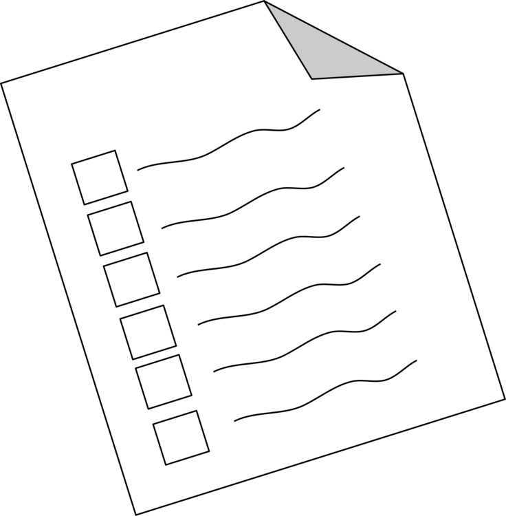 Methodology computer icons questionnaire. Survey clipart graphic