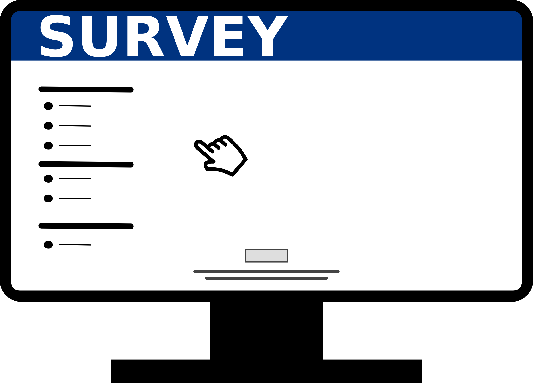 Survey clipart survey question. Asking sensitive questions welcome