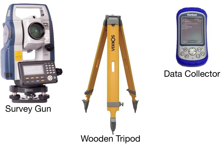 Survey drawing total station. And instructions lightcraft technology