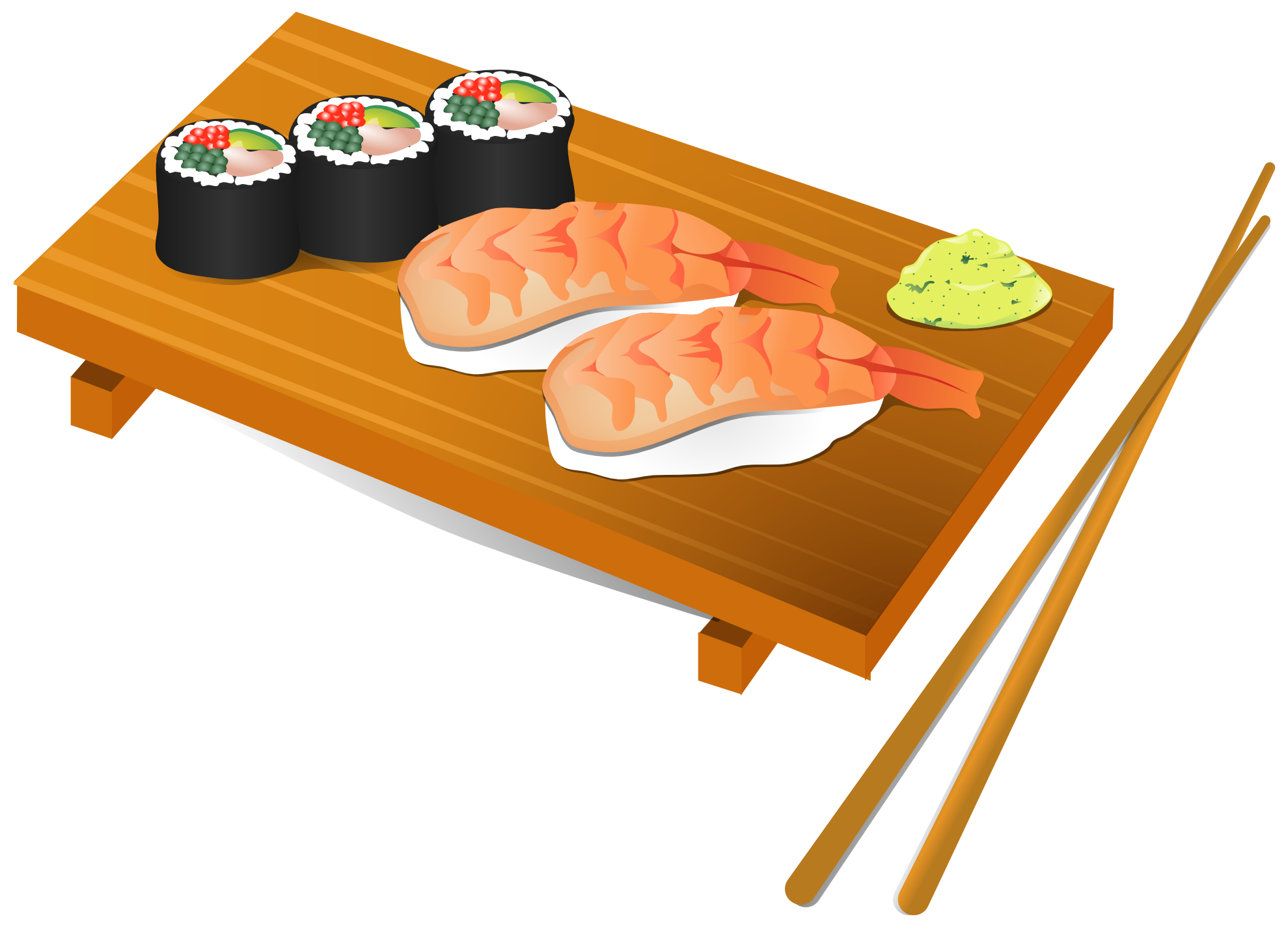 Sushi clipart png. Px panda free images