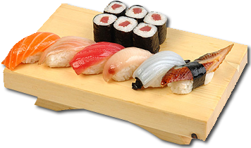 Sushi plate png. Image