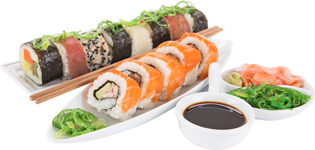 sushi plate png
