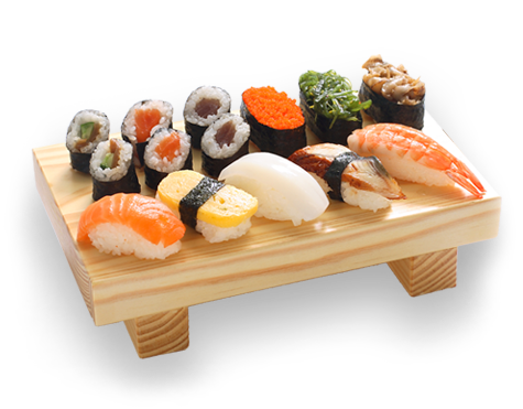 Sushi plate png. Can people with hiv