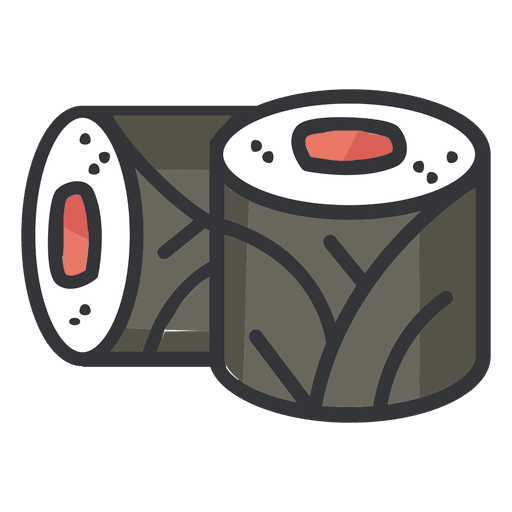 Png sushi. Color icon transparent svg