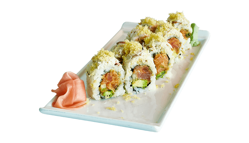 Sushi roll png. Spicy tuna ceviche restaurant clip free library