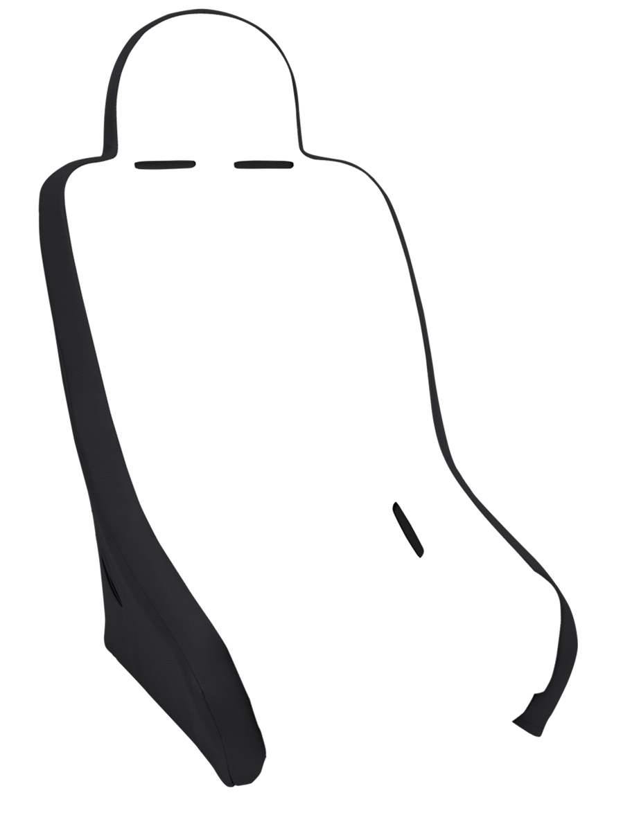 Suspension clip pocket. Competition pro seat from