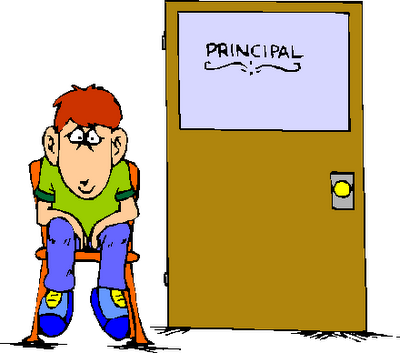 Principal clipart consequence. Suspensions now to be