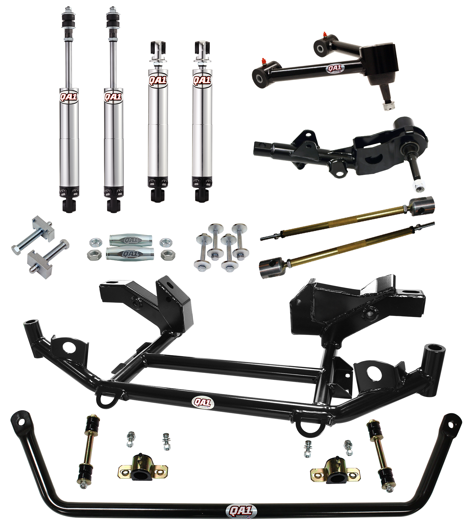 Suspensions clip 3 bolt. Handling suspension kits for