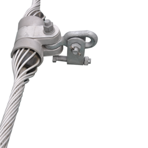 Suspensions clip ab cable. China clamp for steel