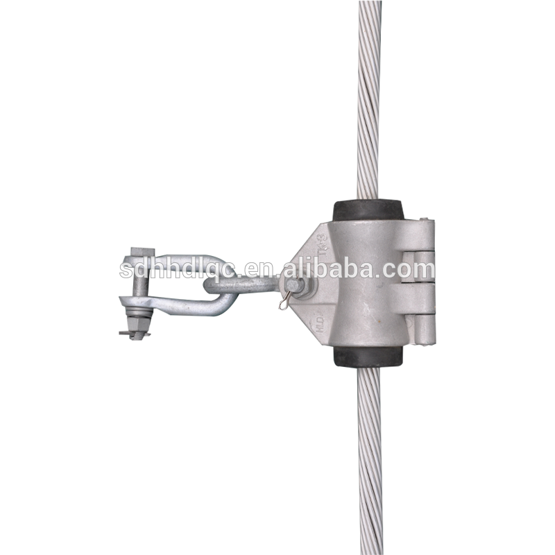 Suspensions clip aerial cable. Messengered clamp suppliers and