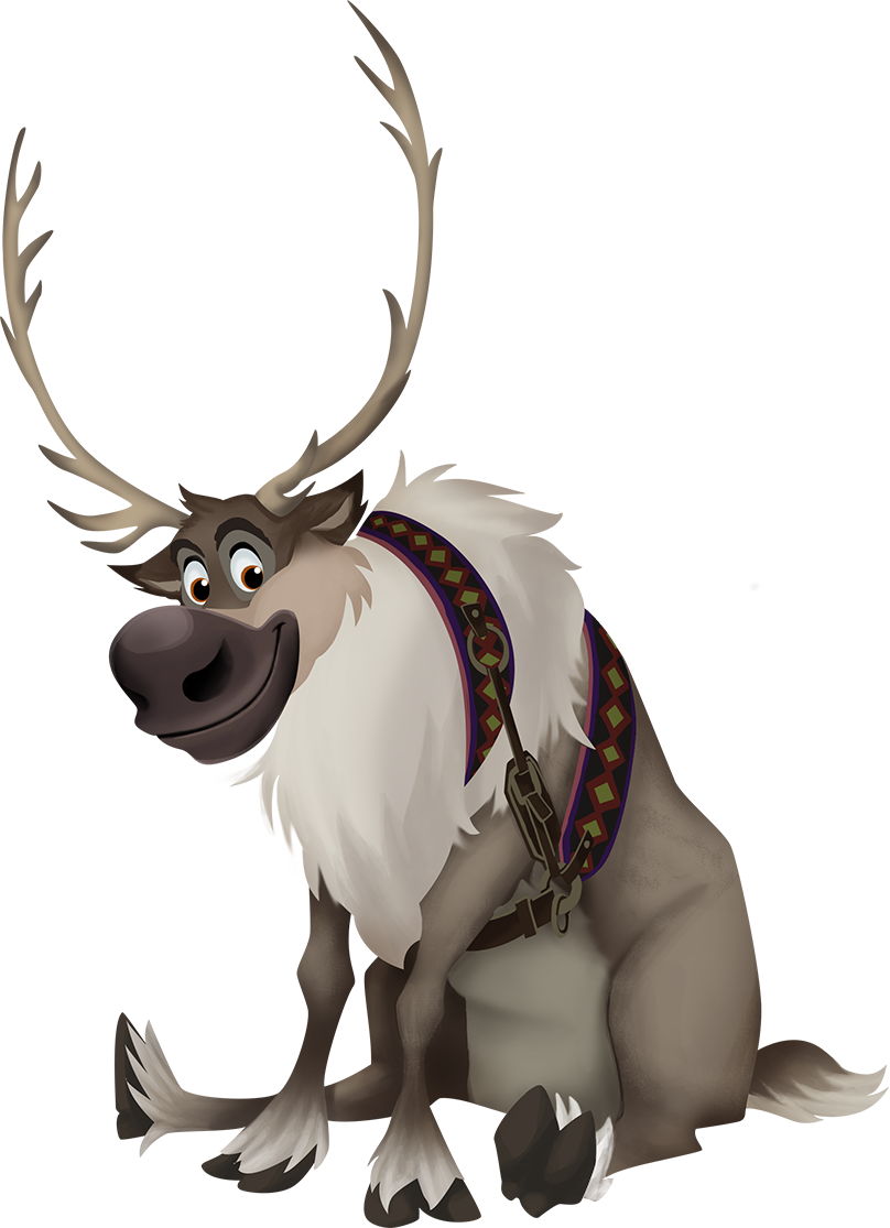 Sven frozen png. Disney holiday card creator