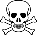 Svg 2 dangclass6. Category poison warning signs