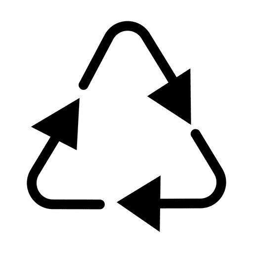 Svg 2 png. Recycle triangle transparent vector